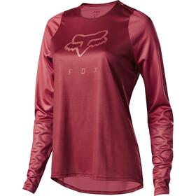 f8e0358adc902d Endura MT500 Print II maglietta a maniche lunghe Donna rosso su Bikester